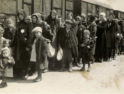 These new Jewish arrivals at Auschwitz had just endured a long, suffocating train trip in a packed railcar, in most cases watching fellow prisoners die on the way. All evidence of their names was hidden or destroyed, and serial numbers were tattooed on their chest or arms. Later in the war, undesirable arrivals at Birkinau were not processed at all- just killed immediately with no documentation. This makes getting a firm number on murdered victims hard to calculate precisely. Careful consideration and effort was made to arrive at the 1.1 million number in common use today.