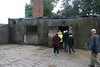 Our tour group enters one of the gas chambers. This was a close replica of a Birkinau chamber- converted from an existing building by the Soviets in 1947. None of the original Auschwitz/Birkinau gas chambers survived the war, most having been blown up by the retreating Nazis in 1945. Within the wreckage of the gas chambers and crematoriums it was not hard to tell what they had been used for.