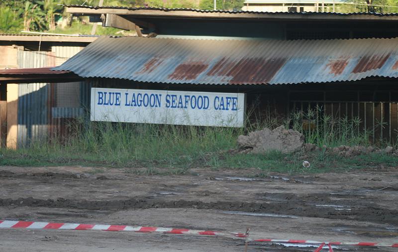 Irgendwie fanden wir an dieser Stelle weder das Meer, geschweige denn eine blaue Lagune.