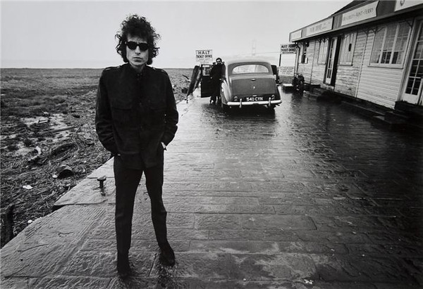 Bob Dylan..this promo shoot was arranged by Barry Feinstein