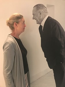 Sheri is intimidated by LBJ