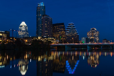 Downtown Austin. Twilight