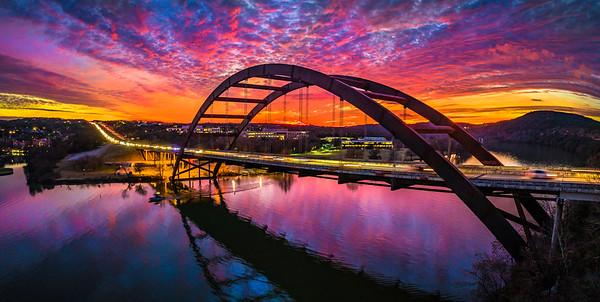 PB Sunset Low angle Jan 2019