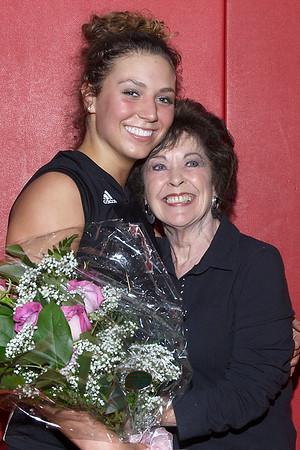 2006 AHS volleyball senior night