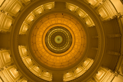 Ceiling of Capital Building