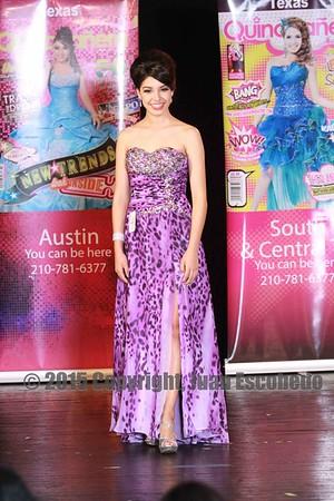 Austin Quinceañera Cover Girl 2015