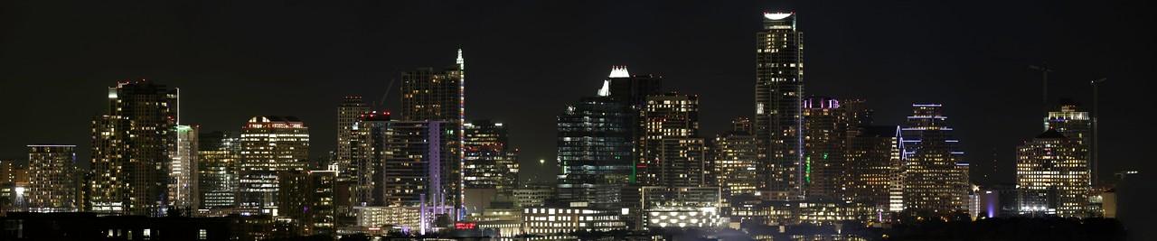 Austin Skyline - Nov 15, 2016