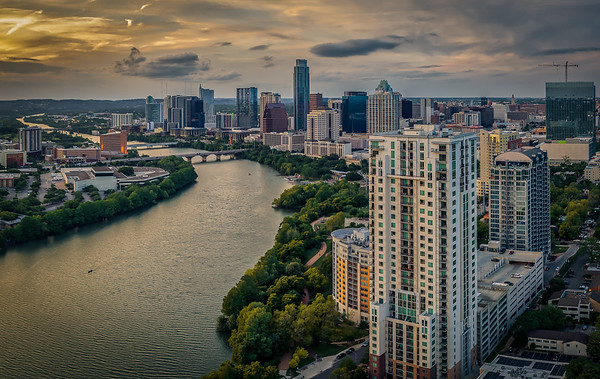 Downtown Austin Skyline 14