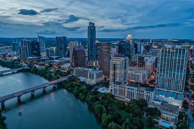 Downtown Austin Skyline 17