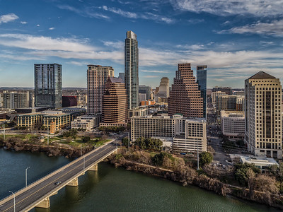 Downtown Austin Skyline 4
