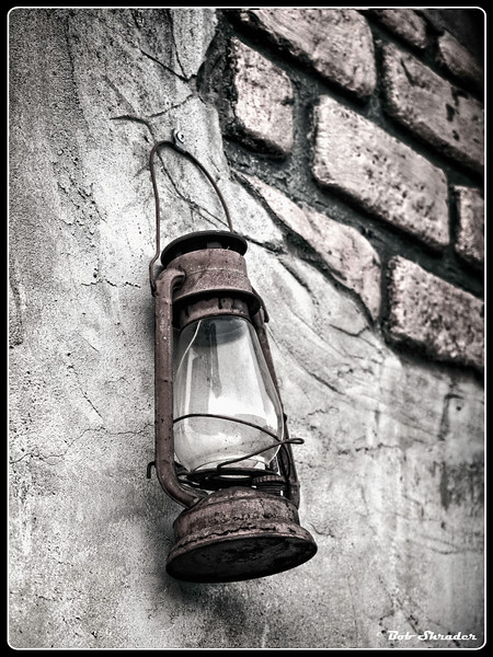 Latern on Wall