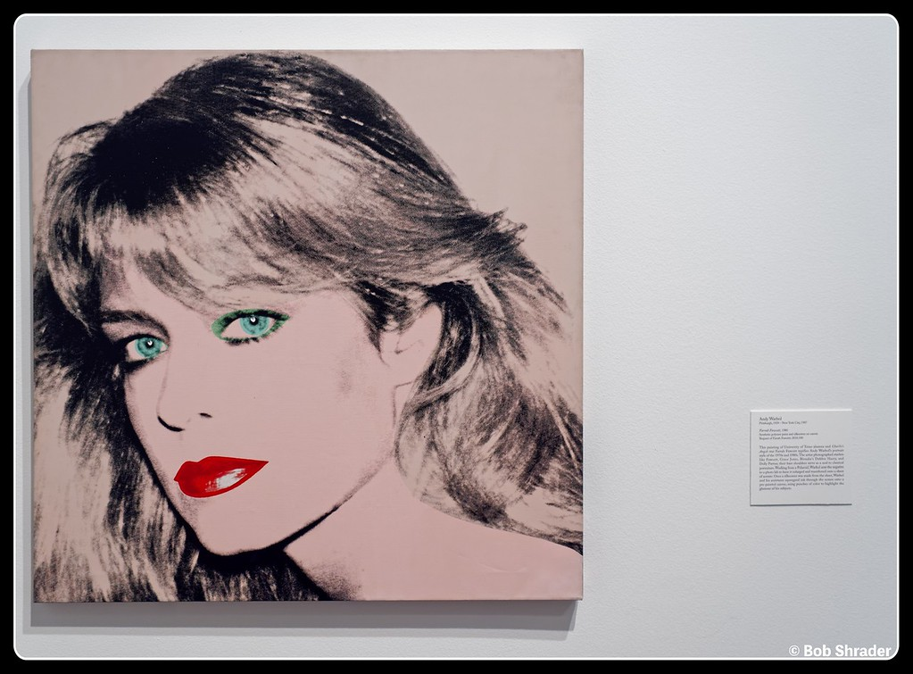Farrah Fawcett 1980 by Andy Warhol