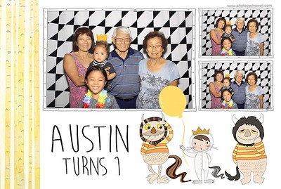 Austin Turns 1 (Fusion Photo Booth)