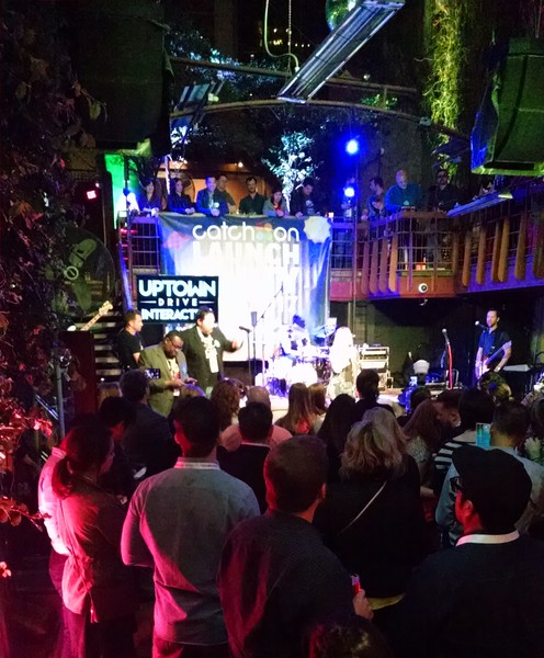 Catch on Launch Party at Cedar Street Courtyard