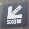 SUNDAY - Not clear why the SXSW logo points SW instead of South by Southwest?