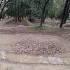 Pump track! Too wet to ride, not sure my B-Cycle would have been the right choice anyway