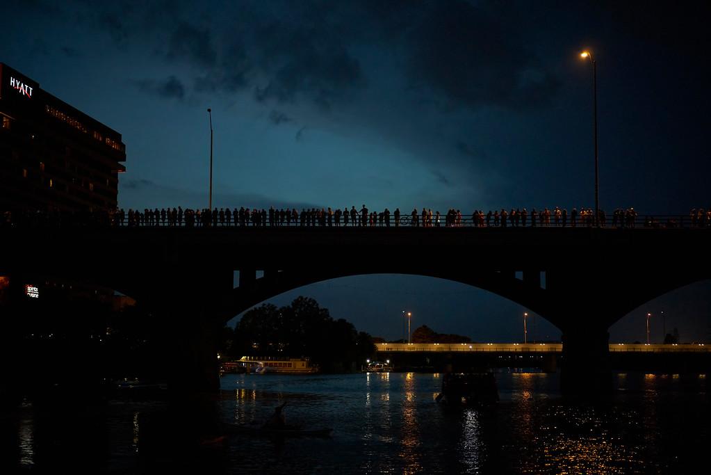 Bat Bridge<br /> Austin<br /> 2015