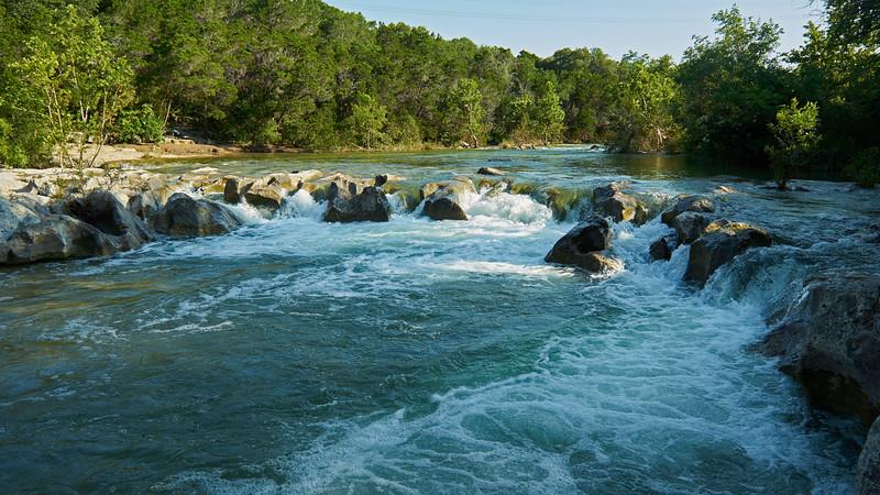 Sculpture Falls<br /> Barton Creek<br /> Austin<br /> 2015