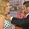 Kara Swinney takes in a fitting opportunity with designer Daniel Esquivel...he is making her Austin Fashion Awards gown.