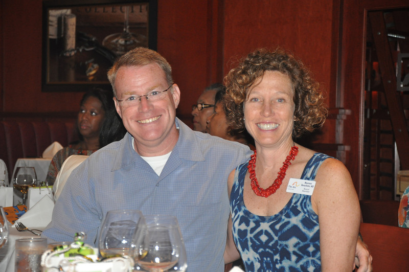 Brian Benscoter, KUT and wife Maureen, The Arc of the Capital board member