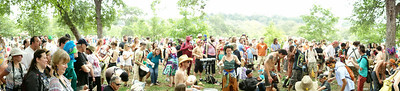 Eeyore's 51st Birthday Party at Pease Park in Austin Texas.