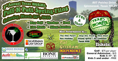 Texas Normal's 3rd Annual Puff-N-Putt Spring Fling.