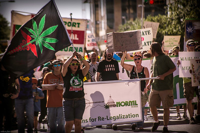 5/3/14 The Texas NORML Marijuana March at the Texas capitol.