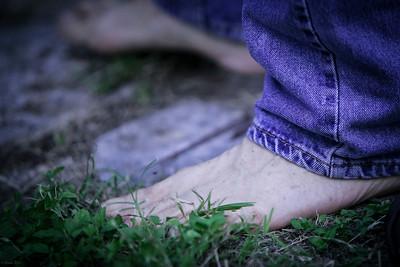 PJ in barefoot mode.
