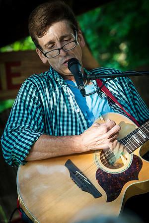 June 9, 2013 Randy Robertson with his he-ART.
