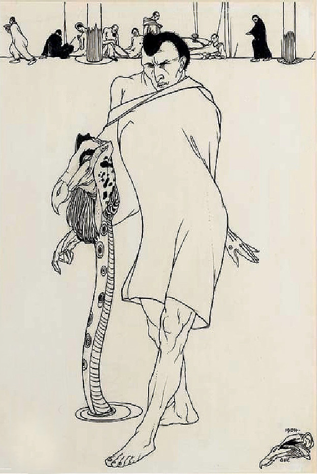 1904 Pen and ink