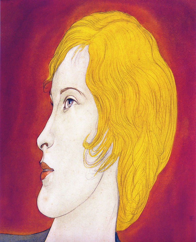 c.1932 Pencil and watercolor