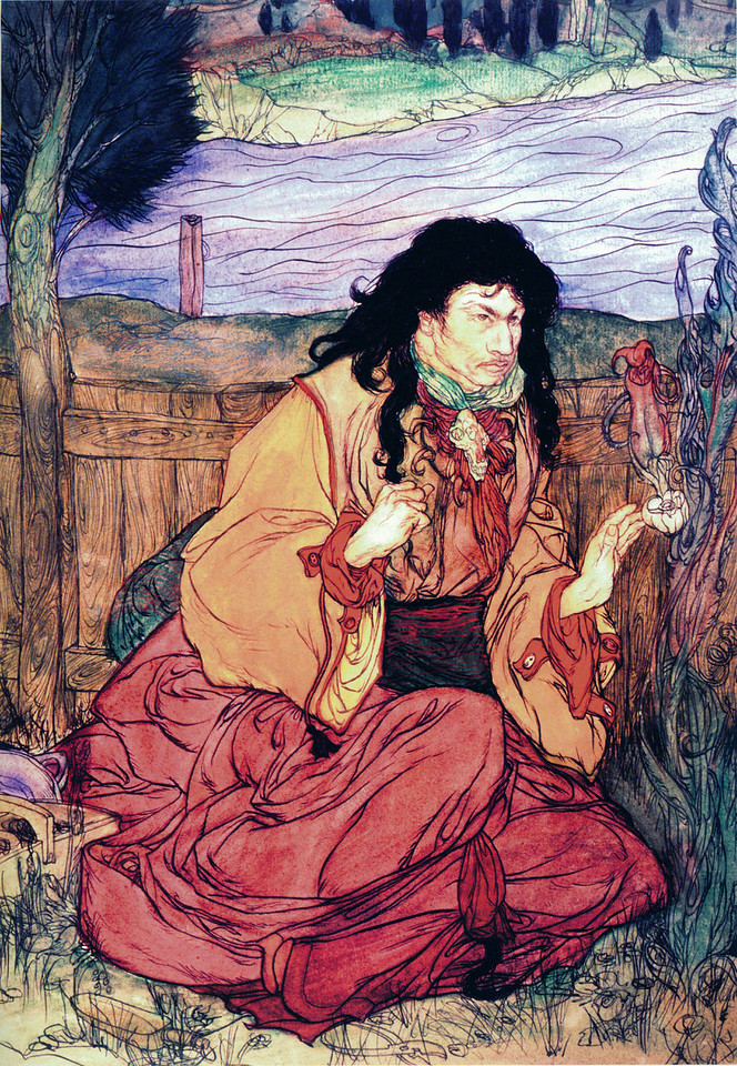 Figure in Japanese Robes - River Styx