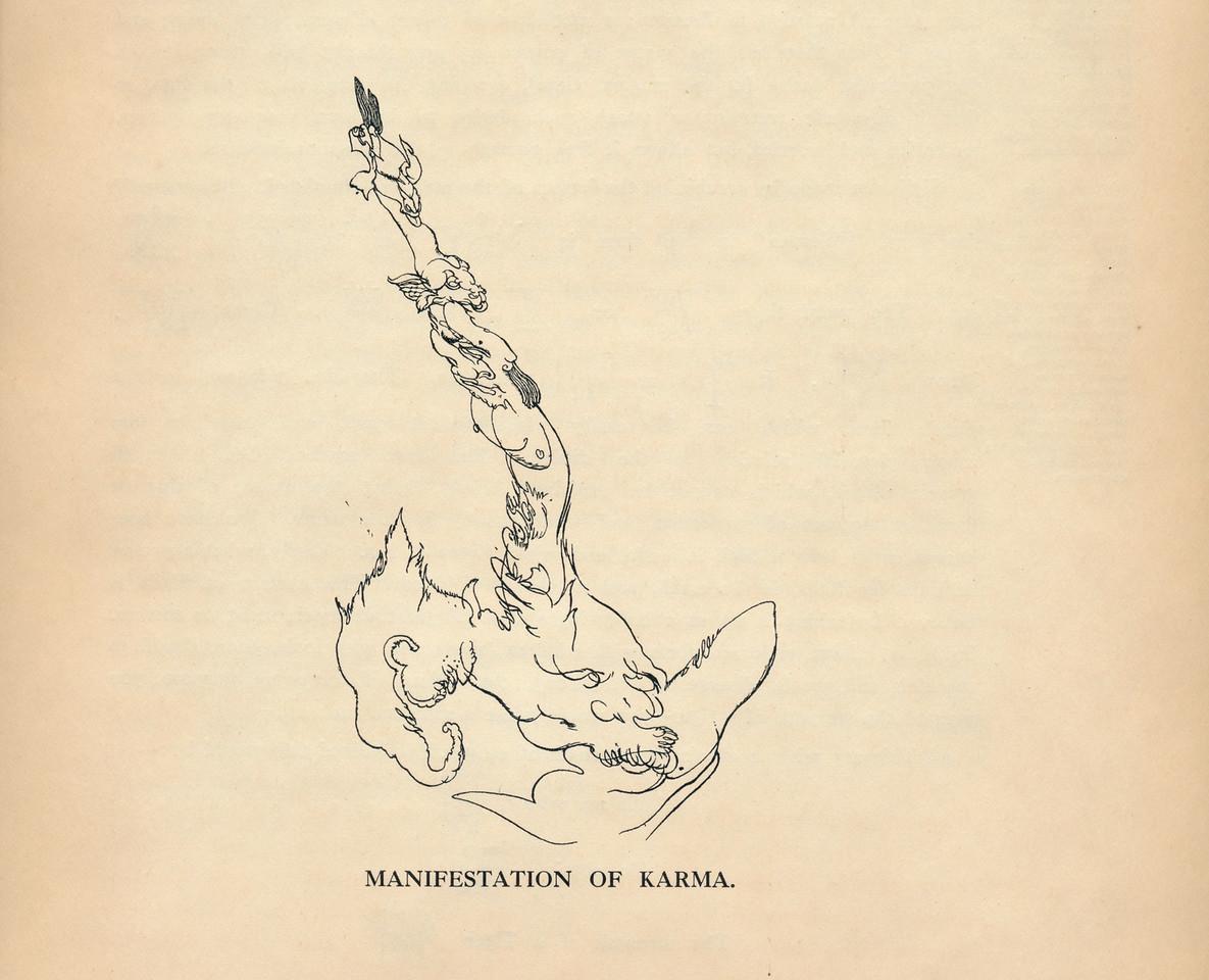 Manifestation of Karma