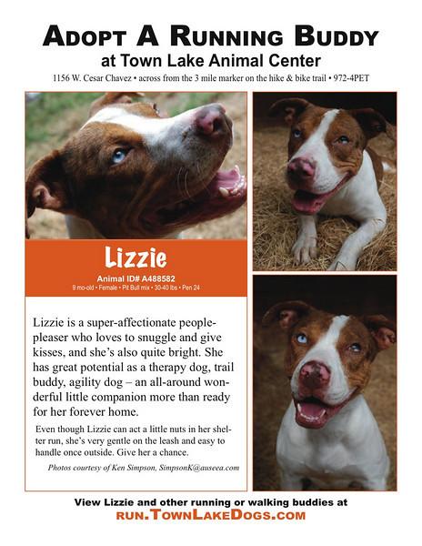 Lizzie A488582 flyer, photos by Ken Simpson