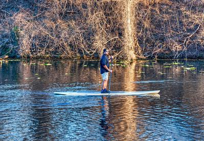 river-board-paddler