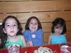 Teresa, Lucia and Roisin at Joe's, 2nd Street