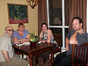 Dinner at Tammy & John's house.  Tio Hetol, Tia Sheri, Judy and Russ wouldn't stop talking!