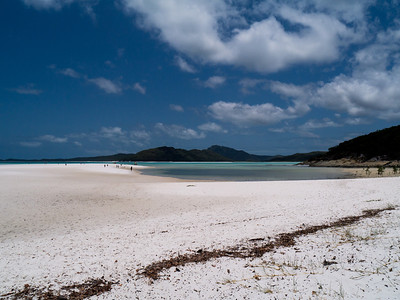 North end of Whitehaven Beach