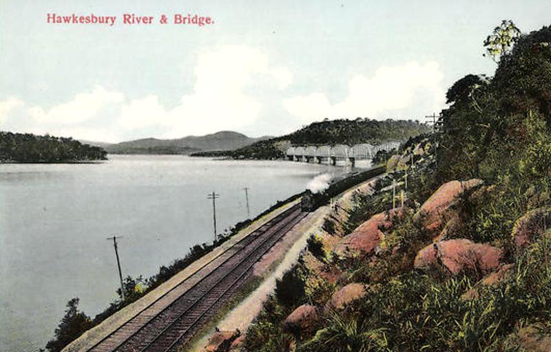 Hawkesbury River and Bridge