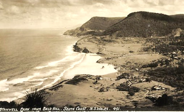 Stanwell Park from Bald Hill
