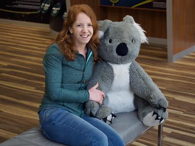 Kris and a Koala