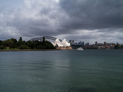 Sydney Opera House with Bridge in the background
