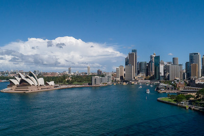 View from Harbour bridge