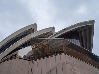 Visting Sydney Opera House