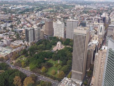 Sydney Tower - Hyde Park / Anzac Memorial