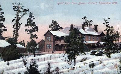 Hotel Fern Tree Bower in 1910