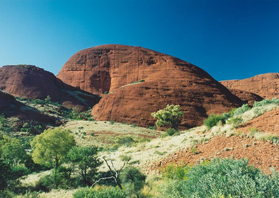 At Kata Tjuta (the Olgas)