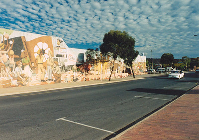 Street in Alice Springs