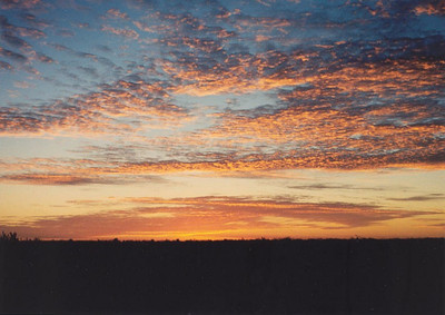 Sunset near Lancelin, north of Perth