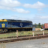 Chicago Freight Car Leasing Australia (CFCL) loco G515 at Dynon, Melbourne on the 4th January 2011.